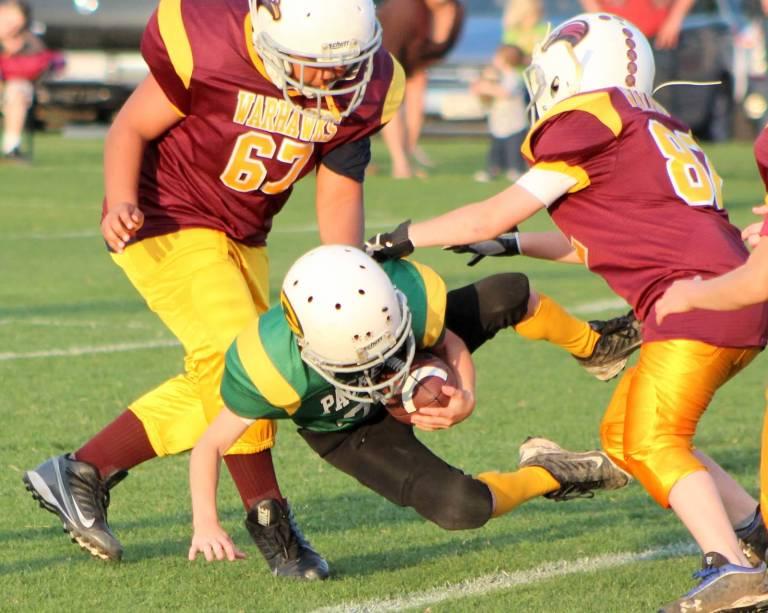 Tackle in backfield KYA
