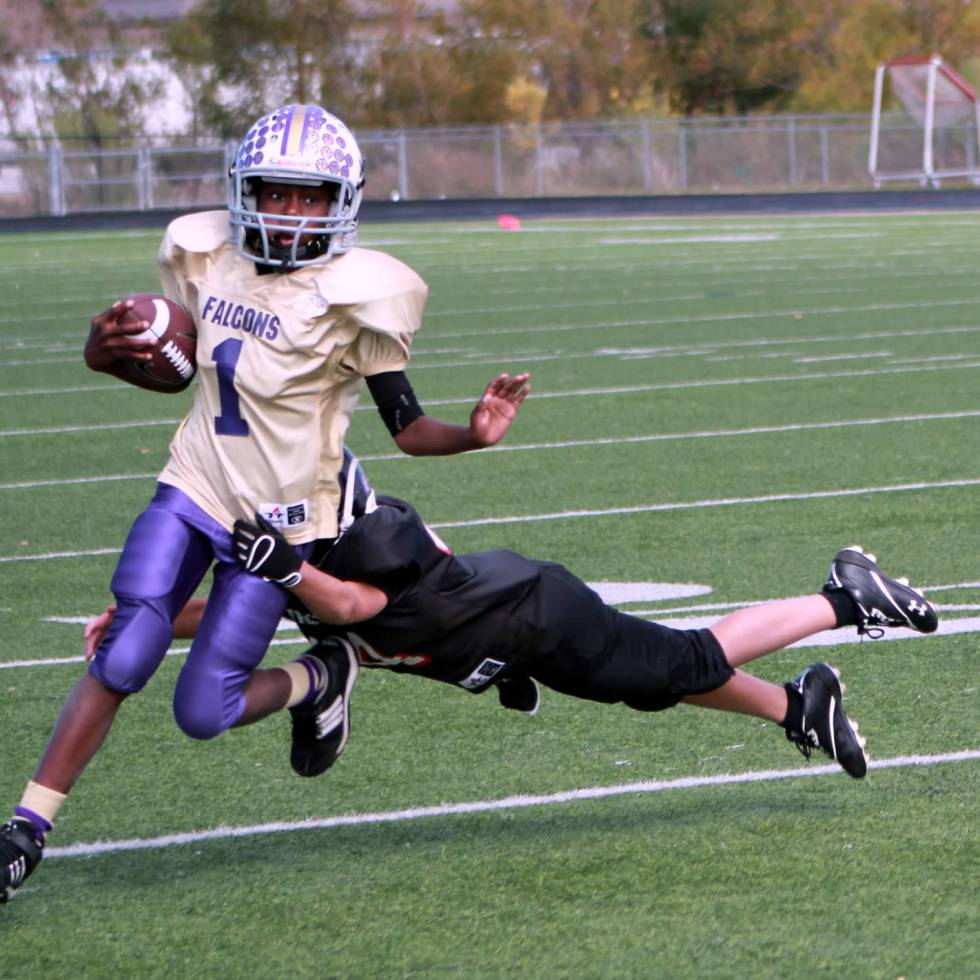 KYA Football Tackle running back youth football