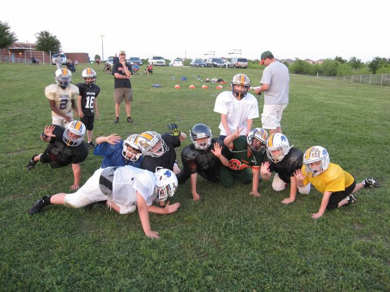 kya youth football practice