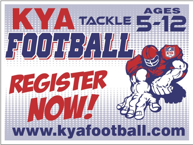 Fall football KYA Sign Ups