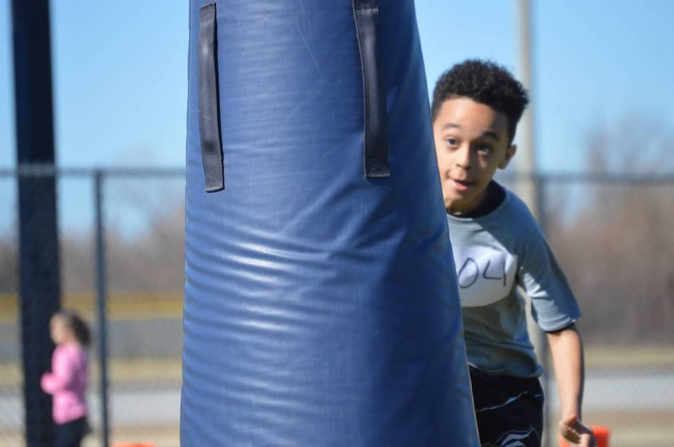 KYA Grass Drills Spring 2016 Youth Tackle Football