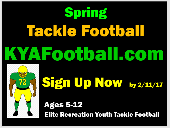 Spring Football 2017 - Tackle Youth Football