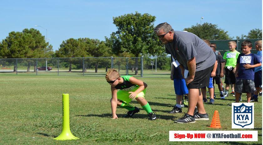 KYA Sports Try Outs Keller Football