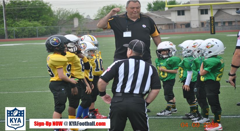 KYA Football Mite Tackle Football